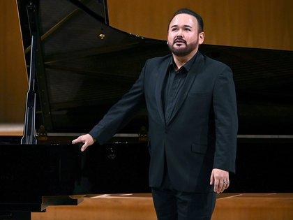 El tenor Javier Camarena se presenta en Moscú